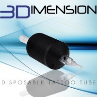 Tubi Monouso 3Dimension per Tatuaggi - Grip in Silicone | Tattoo Supplies